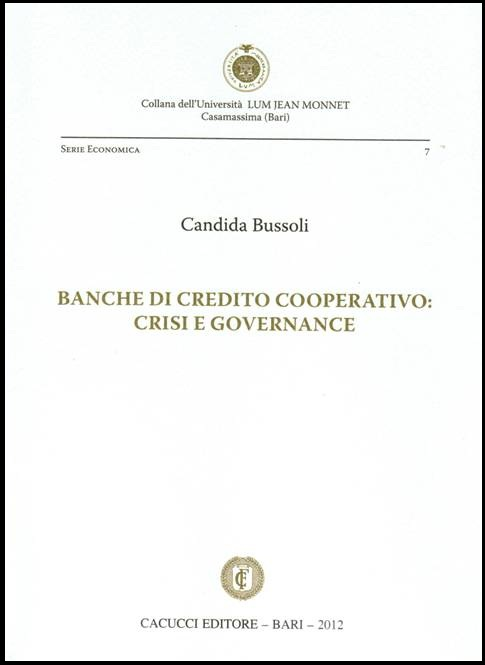 La libreria professionale for Banche di credito cooperativo